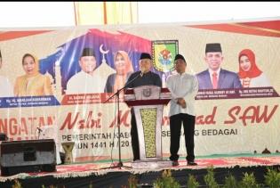 Peringatan Maulid Nabi Muhammad SAW 1441 H Tingkat Kabupaten Sergai