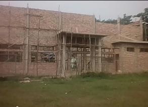 Pembangunan Gedung Serbaguna Desa Tani Makmur Berdasarkan Gambar dan RAB