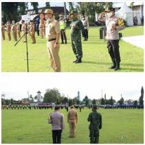 Apel Siaga,Wako Launching Kampung Tangkal Covid-19