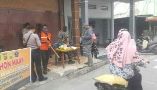 Operasi Yustisi Polsek Panipahan di Kecamatan Pasir Limau Kapas