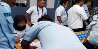 BNN Tes Urine Pegawai Lapas TebingTinggi