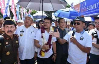 Pemkab Sergai Gelar Launching KOMANDAN Serta Panen Anak Sapi
