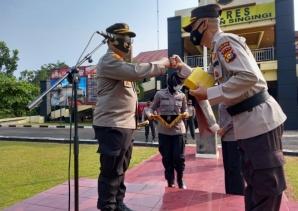 Kapolres Kuansing Melepas AKBP Mahmudin  Yang Akan Memasuki Masa Purna Bhakti Sebagai Anggota POLRI