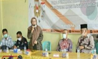 KPU Muratara Melantik dan Mengambil Sumpah Jabatan 156 Ketua KPPS