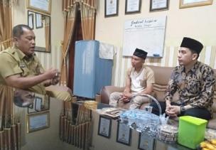 Ketua Asira Sergai Siraturrahmi Ke Kantor Dinas Pendidikan