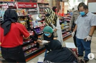 Karyawati Minimarket di Tebingtinggi Positif Covid-19