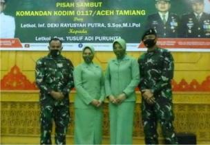 Pemkab Aceh Tamiang, Gelar Pisah Sambut Dandim 0117 Aceh Tamiang