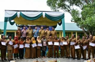 18 Sekolah Di Sergai Terima Penghargaan Adiwiyata Dari GubSu