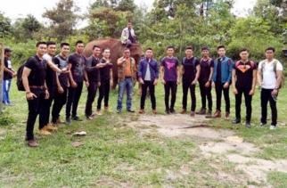 Belasan Finalis Putra Indonesia Dari Berbagai Provinsi Tour Ke TNTN