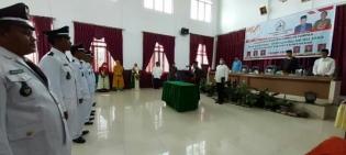 Bupati Bener Meriah Lantik Enam Reje Kampung Terpilih Kecamatan Bukit