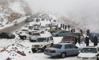 Heboh Sepekan : Arab Saudi Turun Salju