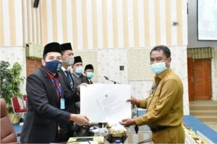 Ketua DPRD Gelar Paripurna Pengesahan 2 Ranperda