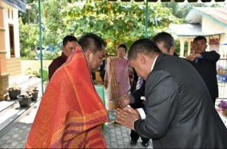 Darma Wijaya Hadiri Peresmian Rumah Dinas Pdt Gereja HKBP Pardamean