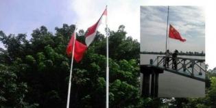Bendera China Kembali Berkibar dalam Wilayah Indonesia, di Kantor Perusahaan dan Dermaga