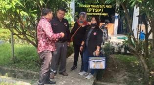 Diduga ADD Dikorupsi, Kades Tanah Merah Siak Hulu Resmi Dilaporkan