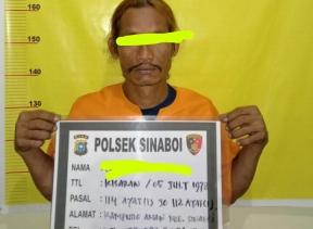 Kedapatan Membawa Sabu, Dua Orang Laki - laki Diamankan Polsek Sinaboi