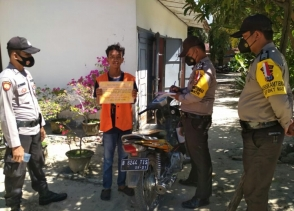 Operasi Yustisi Selama 37 Hari, Polsek Simpang Kanan Telah Menjaring 1.049 Orang Pelanggar Prokes