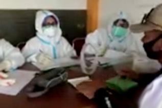 Hasil Rapid Test Massal Senapelan, Dua Warga Reaktif