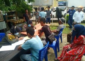 Tim Gabungan Bersama Hakim PN Gelar Pelaksanaan Sidang di Tempat
