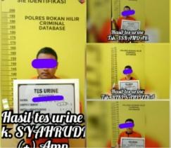 Diduga Sedang Transaksi Sabu, 4 Tersangka Berhasil di Grebek SatRes Narkoba Polres Rohil