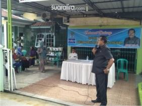 Anggota DPRD Kota Pekanbaru, Pangkat Purba SH Sosialisasikan Peraturan Daerah