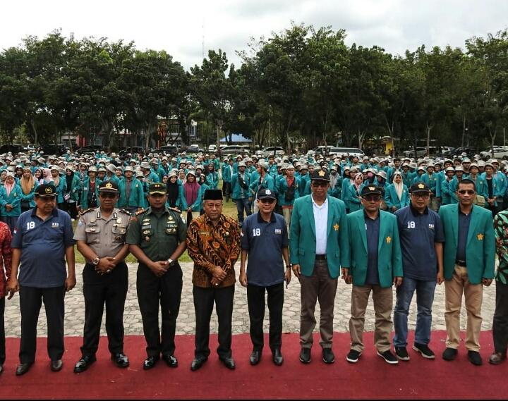 Bupati Aceh Tamiang Sambut 1270 Mahasiswa (i) KKN Dari Universitas Syiah Kuala Banda Aceh