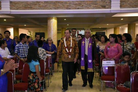 Ummat Kristiani Tebing Tinggi rayakan Paskah Oikumene