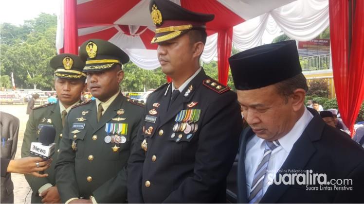 Kapolres Aceh Tamiang, Pimpin Upacara Peringatan Puncak, HUT Bhayangkara Ke 73