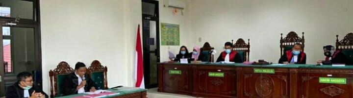 Dugaan Tipikor Pengelolaan ADD/DD, Mantan Kades Daspetah I Dituntut 2,5 Tahun Penjara