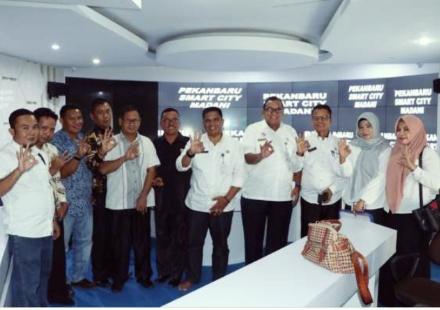 DPRD Kabupaten Merangin Kunjungi Kominfo Pekanbaru