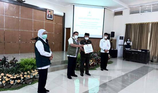 BNPB Salurkan DTH Untuk 1.716 Korban Gempa di Kabupaten Malang