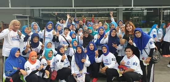 Caleg Perindo Kota Bekasi mengadakan Senam Zumba