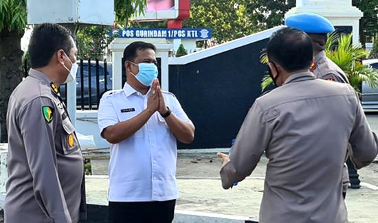DPJP Covid 19 Kota Pekanbaru Dampingi Kapolda Riau Tinjau RS dan Vaksin Center Bhayangkara
