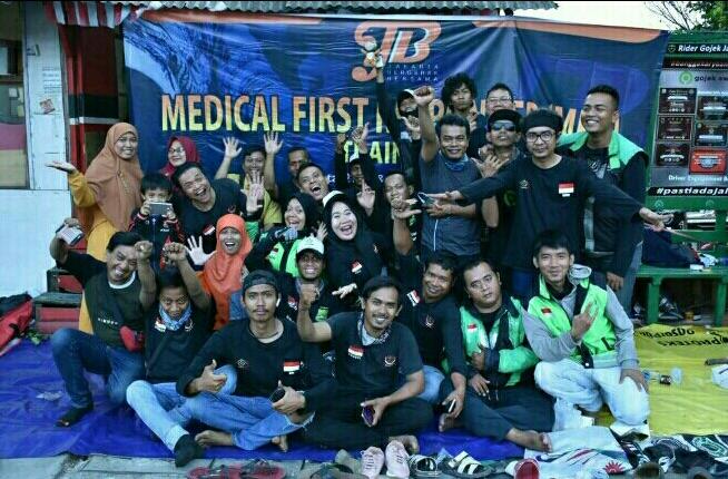Jakarta Bergerak Bersama Inisiasi Program Pelatihan Untuk Ojol