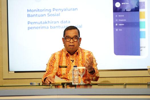 Pemprov Riau Ucapkan Terimakasih Kepada BPKP Riau Dengan Adanya Mata Bansos