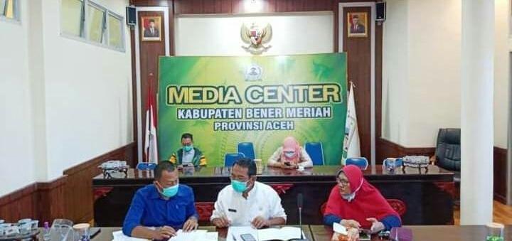 Asisten I : 'Pemkab Bener Meriah Tangani Covid-19 Melalui 3T+M'