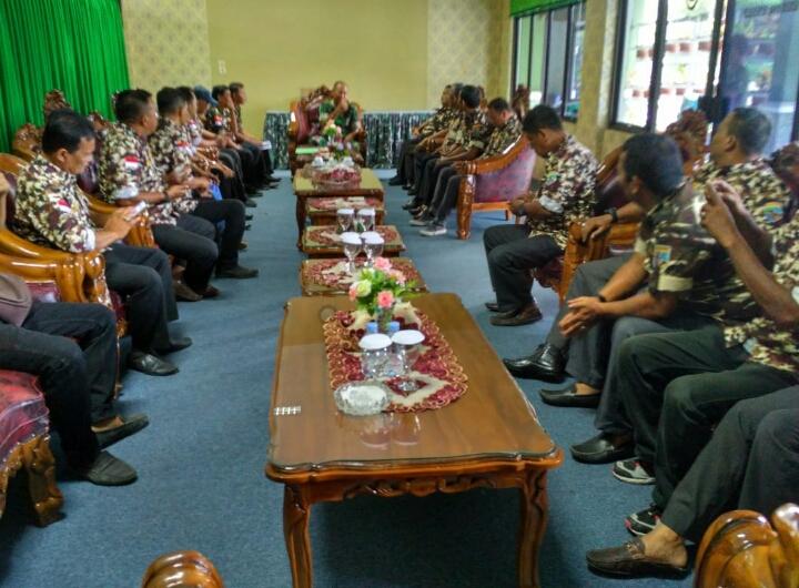 Kunjungan Pengurus FKPPI Provinsi Riau dan Keluarga Besar PC - FKPPI Bengkalis Ke Makodim 0303 Bengkalis
