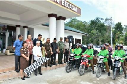 Kejaksaan Negeri Serdang Bedagai Launching GoSak