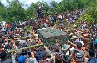 Harimau Sumatera Meresahkan Warga, Akhirnya Masuk Perangkap