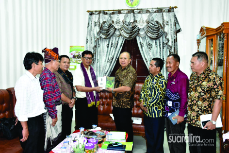 Bupati Sergai Terima Kunjungan Audiensi Yayasan Pelestari Kebudayaan Batak