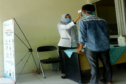 Camat Tungkal Jaya Himbau Jajaran dan Masyarakat Patuhi Ptotokol Kesehatan