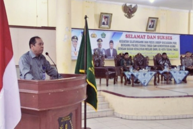 Walikota Buka Kegiatan Silaturahmi dan Focus Group Discussion