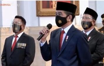 Jokowi Jawab Hoax soal UU Ciptaker: Dari UMP, Cuti hingga PHK