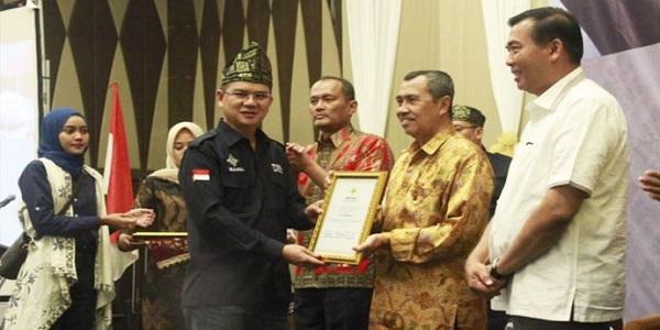 Bupati Siak Syamsuar Tegaskan Perlu Sinergi Untuk Membenahi Transfortasi Riau