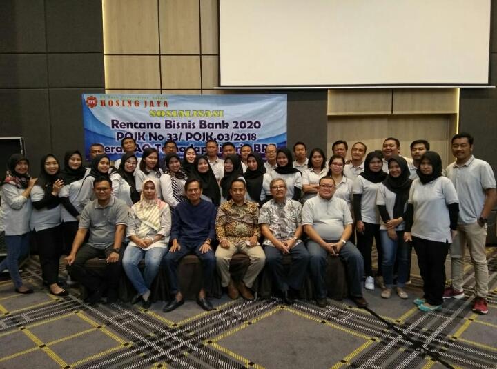 BPR Hosing Jaya Gelar Sosialisasi Rencana Bisnis Bank 2020