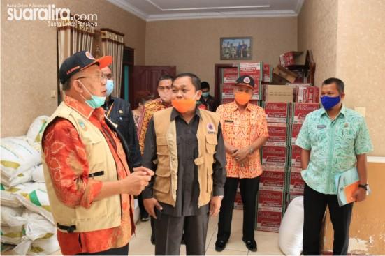 Liason Officer BNPB Pusat Kunjungi Posko Gugus Tugas Sergai