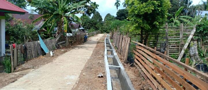 Satgas TMMD ke 110 Telah Selesai 100 Persen Pengerjaan Pembangunan Drainase