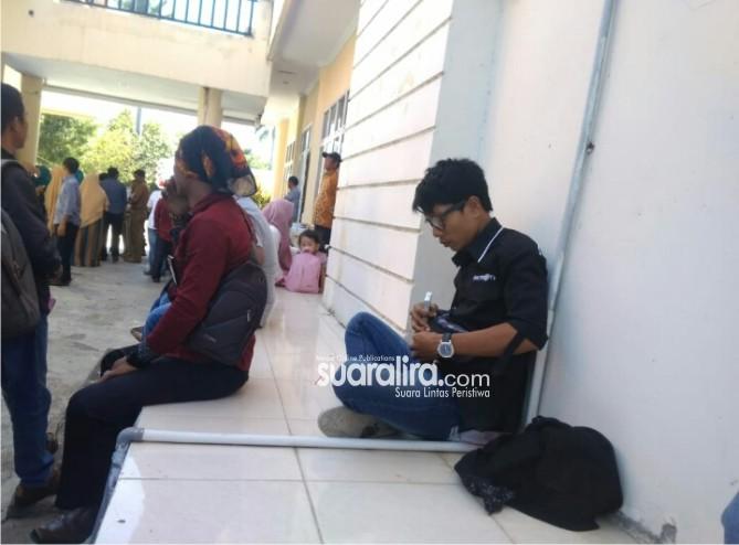Tidak Memiliki ID Card Khusus, Wartawan di Larang Masuk
