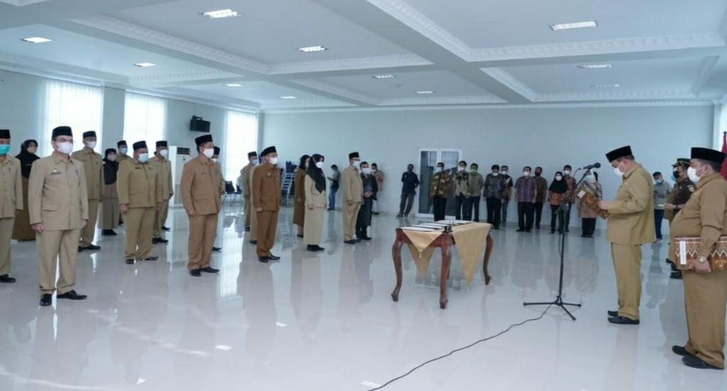 Walikota Tebingtinggi Lantik 21 Pejabat Pimpinan Tinggi Pratama
