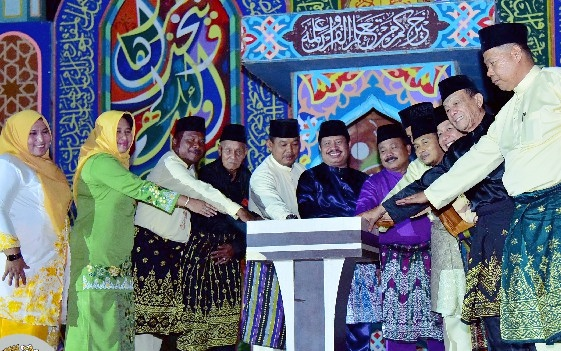 Bupati Bengkalis Resmi Membuka MTQ ke XXX Tingkat Kecamatan Bukit Batu
